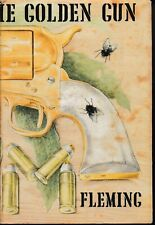 JAMES BOND , THE MAN WITH THE GOLDEN GUN by IAN FLEMING , 1ST EDITION 1965