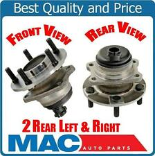 01-07 Town & Country Bearing and Hub (2) 100% New Rear With 4 Wheel ABS Brakes