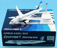JC Wings 1:200 Egypt Air Airbus A220-300 Plane Diecast Aircraft Jet Model SU-GEX