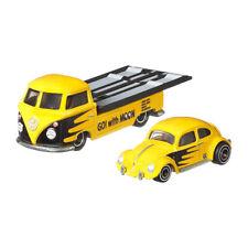 Hot Wheels FLF56-42 VW Käfer + VW T1 Pickup gelb - Team Transport 1:64 NEU!°