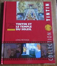 TINTIN LIVRET N°25 - TOUT SAVOIR SUR TINTIN ET LE TEMPLE DU SOLEIL  LONG METRAGE
