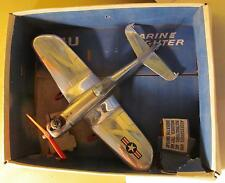 Wen Mac AMF F4U Marine Fighter Control Line Gas Powered Airplane #126A with Box