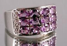 Amethyst Ring, 925er Silber, Gr. 17, Juwelo, mit Zertifikat