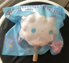 RARE Jumbo Catton Candy Rainbow Squishy Licensed By Quinny. Soft So Pretty