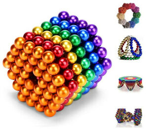 3/5mm Magnets Magic Balls Beads 3D Puzzle Ball Sphere Magnetic Toys-6 COLORS