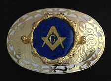 Mason Masonic Freemason Belt Buckle - #227