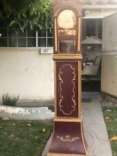 "1880's GERMAN  LENZKIRCH GRAND FATHER CLOCK MEASUREMENTS 6'4"" INCHES TALL"
