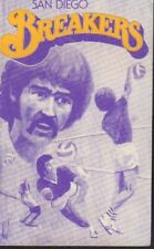 1975 San Diego Breakers Volleyball Schedule 101917jh