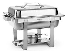 Hendi Economic Gastro Chafing-Dish Set 1/2 GN Brennpaste Speisewärmer NEU