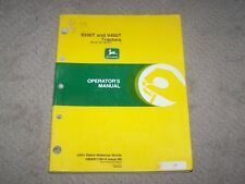 John Deere Used  9300T & 9400T Tractor Ser # 90257 & Up  Operators Manual  B10