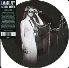 """LANA DEL REY """"NATIONAL ANTHEM"""" VERY RARE PICTURE DISC VINYL 7"""" COLLECTOR NEW"""