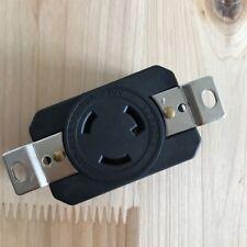 NEMA L6-20R 20A 250V Twist Lock Electrical Plug L6-20 Female Receptacle