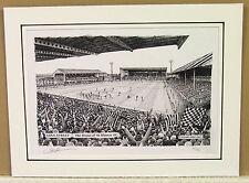 St Mirren FC - Love Street. Limited Edition Stadium Art Print by Stuart Herd