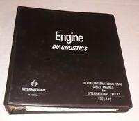 International DT466E 530E Diesel Engine Diagnostics Service Manual EGES-145 1995
