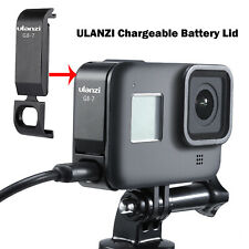 ULANZI Couvercle batterie G8-7 Type-C Port pour GoPro Hero Black 8 Sport Camera