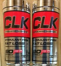 2X Cellucor CLK Fat Loss Formula, 90 Softgels G4 Stim Free PAST DATE Deal