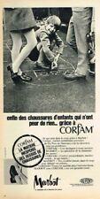 O- Publicité Advertising 1969 Les Chaussures pour enfants Marbot Corfam