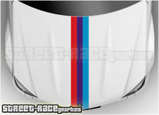 BS2701 BMW bonnet hood racing stripes graphics stickers M sport 1 2 3 4 5 series