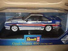 OPEL MANTA B 400 Racing Car weiß blau rot 1984 von REVELL 1:18 NEU & OVP RAR