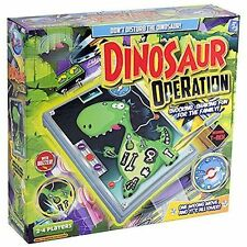 Grafix Kids Dinosaur Operation Fun Party Board Game