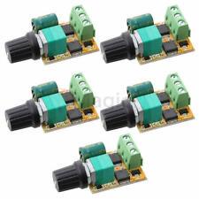 5pcs Mini DC Motor PWM 3V-30V Speed Controller Switch LED Dimmer 6A