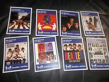 THE BEATLES CLASSIC BOOTLEG SLEEVE ISSUES COVERS TRADING CARDS SET OF 8 CARDS