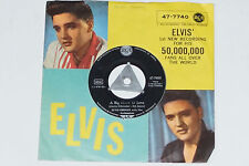 """ELVIS PRESLEY WITH THE JORDANAIRES -A Big Hunk O' Love / My Wish Came...- 7"""" 45"""