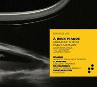 GUILLAUME BELLOM; I. MARGAIN - À DEUX PIANOS [CD]