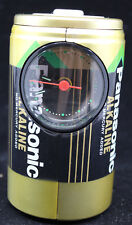 Panasonic Spectaclock #7430 Y2K New Year Battery Shaped Lights Up and Song Alarm