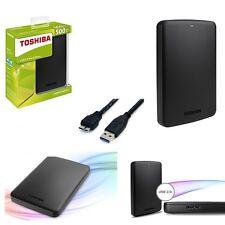 Hard Disk esterno 2 5 500gb Toshiba Slim autoalimentato USB 3.0/2.0 Basics