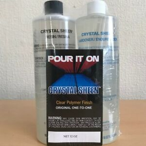 ENVCS16 Envirotex Crystal Sheen - Clear Polymer Finish