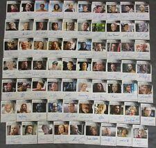 2015 Star Trek Voyager Heroes & Villains Autograph Card SET of 69 Autograph card