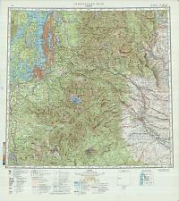 Russian Soviet Military Topographic Maps - SEATTLE (USA), 1:500 000, ed.1982