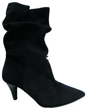 New Womens Black Suede Leather NEXT Boots Size 6.5 RRP £80