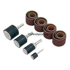 20pc Drum Sanding Kit - Drill Bits Tool Set - 13, 19, 25, 32mm Diameter Drums