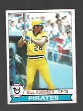 1979 Topps #637 Bill Robinson Pittsburg Pirates VG-EX