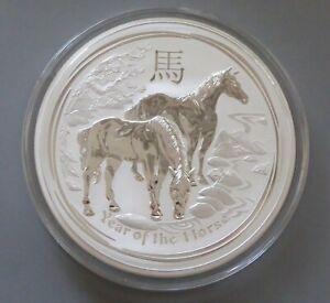 Australien Lunar II – Year of the Horse 2014 – 1kg Silber – 30 Dollars