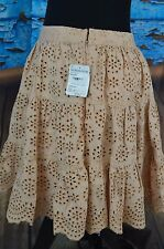 Paul & Joe Sister Skirt Size 40 New Cotton Giulieta Floral Woven Boho Summer