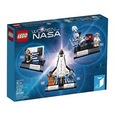 Lego Ideas Women of NASA 21312 with mini-figures space shuttle Hubble telescope