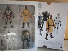 Hasbro B0514EU4 Star Wars Saga Collection - EPISODE II (4Figuren) - Neu / OVP