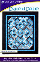 Diamond Double Quilt Pattern by Cozy Quilt Designs Jelly Roll Friendly