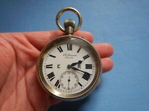 "Rare J W Benson ""THE RAILWAY GUARDS WATCH"" Eastern Railways No.4 Pocket Watch"
