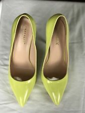 New  Size 10. Women's High Heels  with4.75 Inches Heel. Colour Bright YELLOW