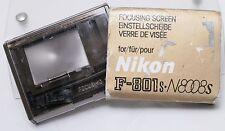 Nikon N8008s F-801s 35mm Film SLR Camera Standard Focusing Screen