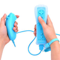 Built in Motion Plus Remote Wiimote Nunchuck Controller for Nintendo Wii&Wii U