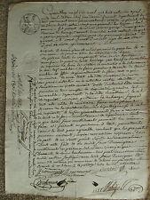 PROCURATION 1806 : DURMIGNAC, RECEVEUR DE CASTRES (LOT)