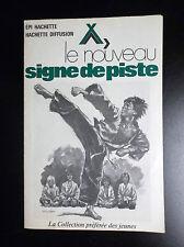 Petit dépliant Le nouveau signe de piste Joubert 1976 Scoutisme