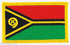 PATCH ECUSSON BRODE DRAPEAU VANUATU INSIGNE THERMOCOLLANT NEUF FLAG PATCHE
