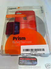 Iphone 4/4s Red Prism Etched Flexi-Case / Cover / Protection  by Cygnett