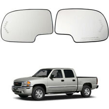Heated Left Right Side Mirror Glass Turn Signal for Silverado 88944391 88944392